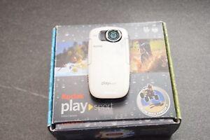 camera étanche Kodak Play Sport Etanche 3m HD - France - État : Occasion: Objet ayant été utilisé. Objet présentant quelques marques d'usure superficielle, entirement opérationnel et fonctionnant correctement. Il peut s'agir d'un modle de démonstration ou d'un objet retourné en magasin aprs une - France