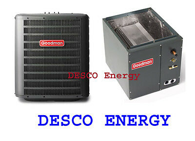 Goodman 1.5 Ton 14.5 Seer Air Conditioning GSX140181 AC Split System-Cased Coil