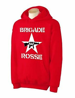 The Clash Red Brigade Joe Strummer T-shirt Brigade Rosse Hoodie Sizes S-xxl Harmonische Farben