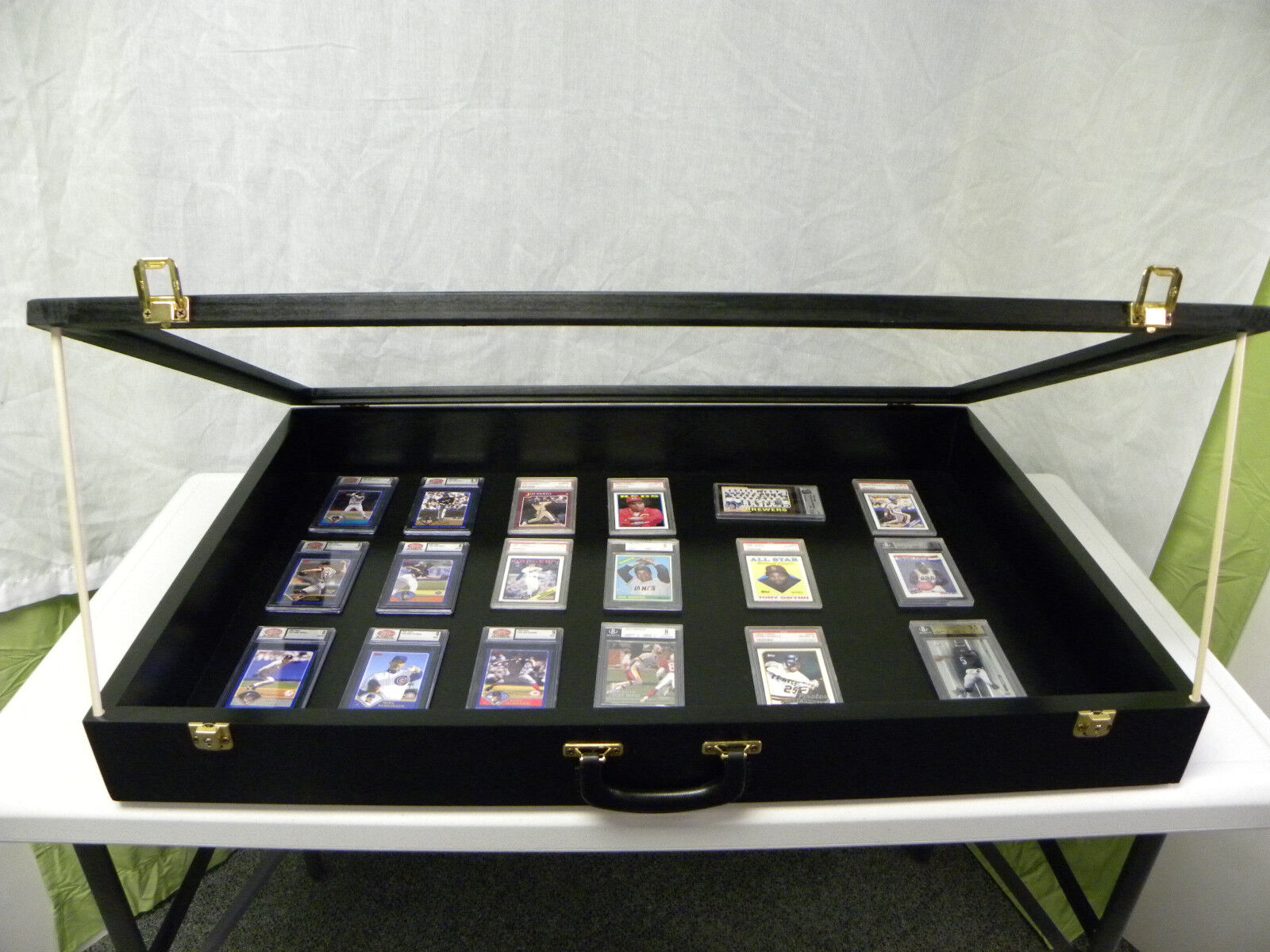 Trade Show DISPLAY CASE Carte Display Case bijoux Case