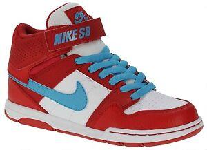 Nike-Mogan-Mid-2-Jr-B-GIRLS-TRAINERS-UNIVERSITY-RED-BLUE-WHITE-VARIOUS-SIZES