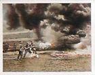 Soldiers flame Throwing Flamethrower Deutsches Heer WWI WELTKRIEG 1918 CHROMO