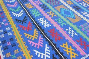 Azizaw-Kilim-Berbere-Tapis-Sabra-Amazigh-Tribal-150-x-95-cm
