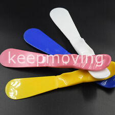 Dental Assorted Lab Plastic Mixing Spatula Impression Material Alginate 4 Colors