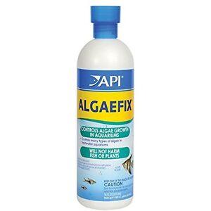API Algaefix Algae Control Fish Aquariums Glass, Ornaments Plants Clean 16-Ounce