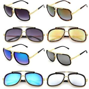 Mach-One-Style-Celebrity-Square-Luxury-Sunglasses-Mens-Womens-Unisex-UV400