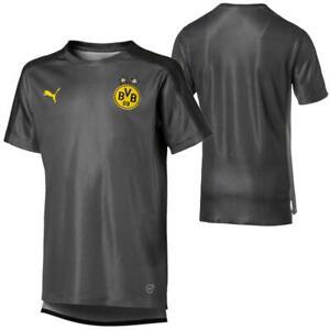 Puma-BVB-Borussia-Dortmund-Kinder-Stadium-Trikot-Jersey-Fan-Fussballtrikot