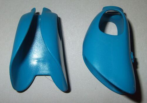 2x Mantel lange Jacke türkisblau Reitermantel 06016