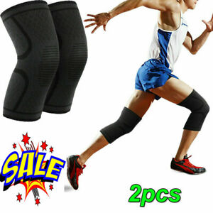 Knee Wraps Weight Lifting Bandage Straps Guard Pads Sleeves Powerlifting Gym