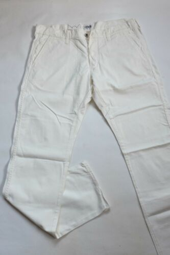 L33 Twill Pantalon Cs W34 55 Edwin Off White 18 Taille I019503 Chino wrIzHw