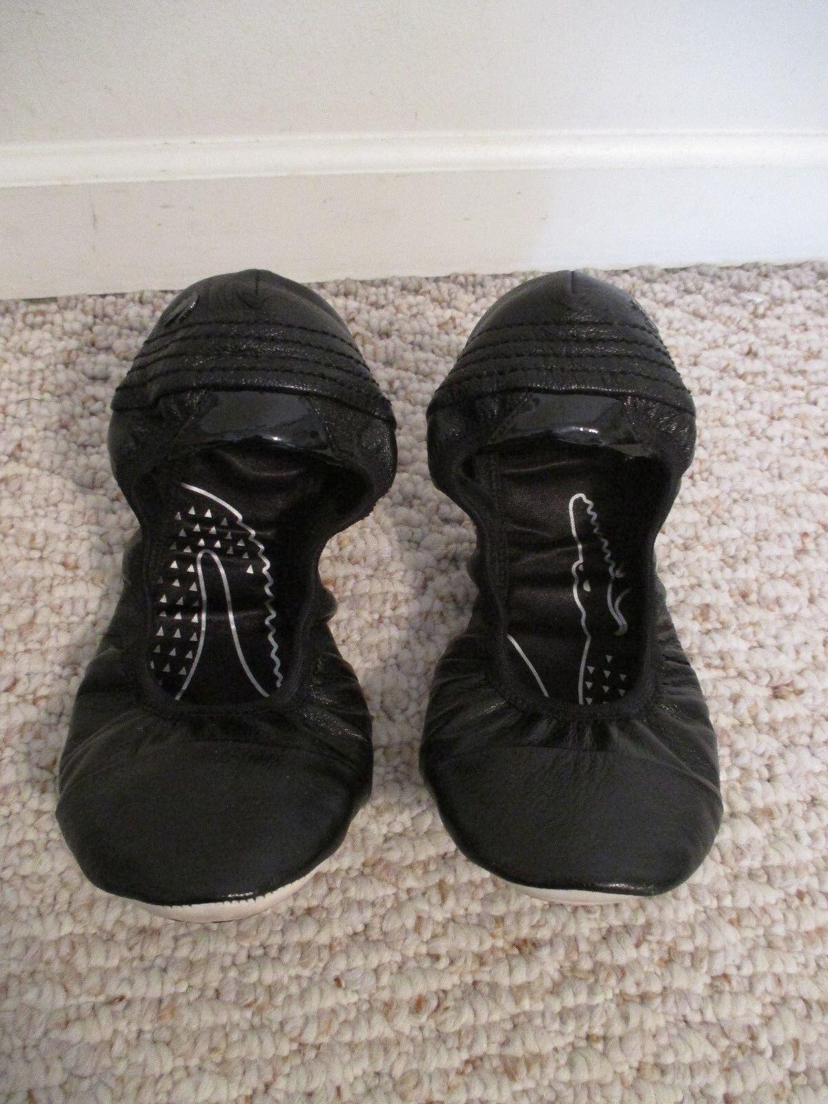 Lacoste Villietta Black Ballet shoes Size 8.5 US