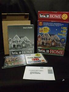 Total-3D-Home-6-0-Design-PC-Software-Floor-Plans-House-Landscapes-mcmansion