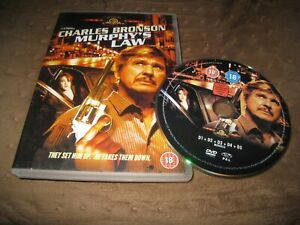 MURPHY'S LAW USED 1986 CHARLES BRONSON ACTION THRILLER UK DVD.