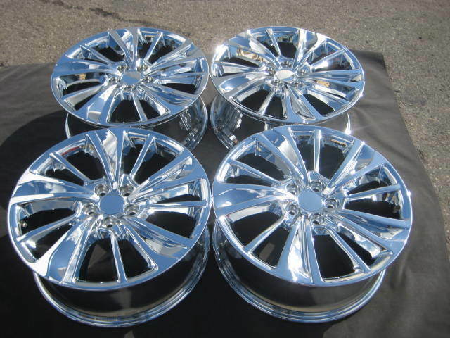 Set Of Factory Acura MDX OEM Chrome Wheels Rims ZDX Ridgeline - Acura mdx oem wheels