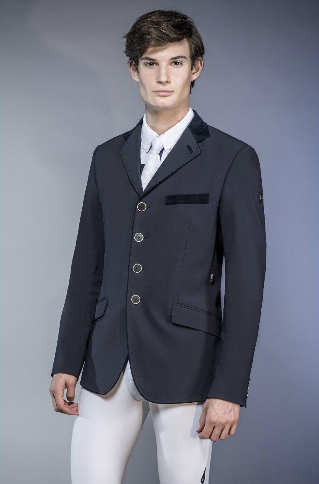 Equiline señores de tu chaqueta  elios , caballeros turnierjacket, turniersakko, azul
