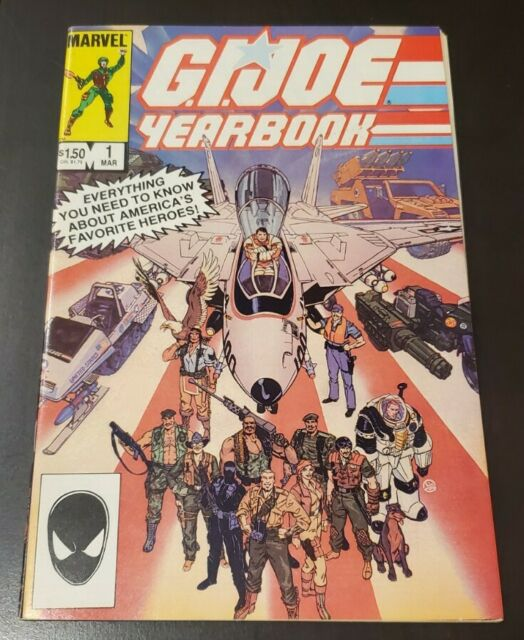 G.I. Joe Yearbook #1 (1985) VF/NM HIGH GRADE GIANT SIZE * LARRY HAMA HERB TRIMPE