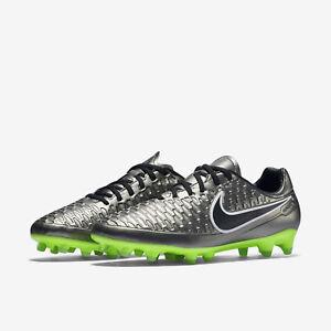 e90515f3e NEW Nike Magista Orden FG Metallic Pewter Black Ghost Green 651329 ...