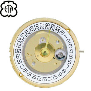 Genuine-ETA-255-461-255-462-Swiss-Made-Quartz-Movement-3-Hands-Date-3-NEW