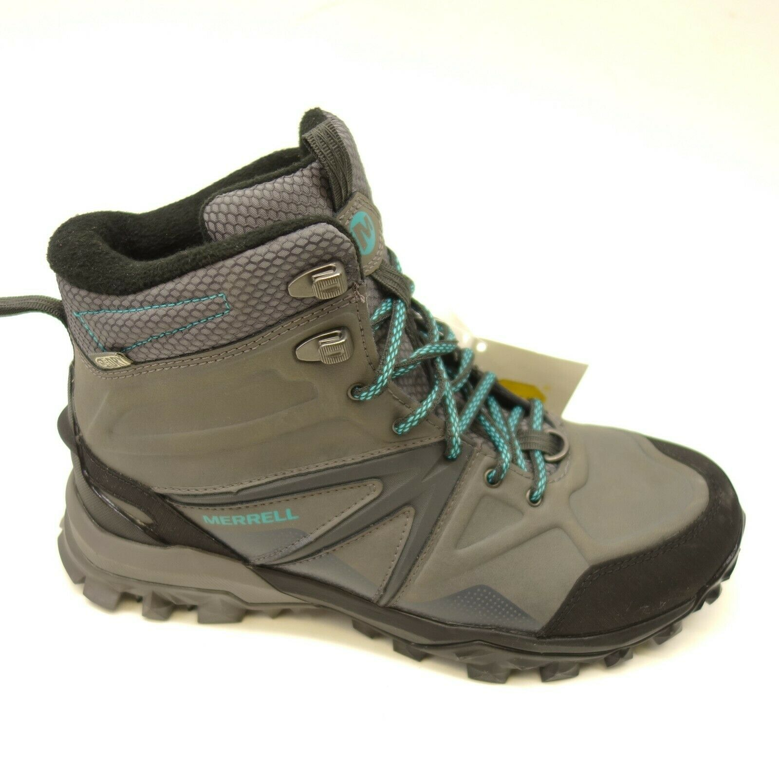 Merrell Capra Glacial Ice+ US 7.5 EU 38 Mid WP Leather Support Womens Boots