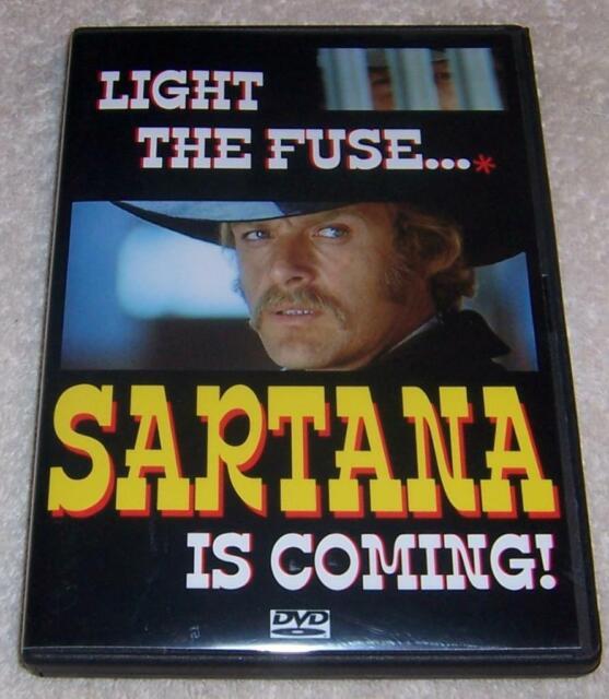 Light The Fuse    Sartana Is Coming  Dvd John Garko