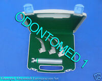 Complete Medical Adc Laryngoscope Set, Macintosh, Fiberoptic (ADC4079F)