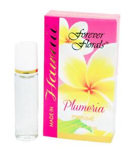 Hawaiian-PLUMERIA-PERFUME-Roll-On-By-FOREVER-FLORALS-Hawaii-New-NIB-Lei-Flowers