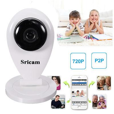 Wireless IP Camera HD 720P P2P Add-Drop Cam WiFi IR Night Vision Mobile View 1MP