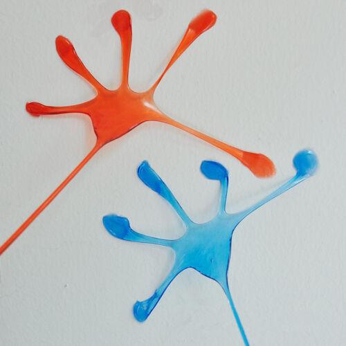 10Pcs Kids Party Supply Favour Mini Sticky Jelly Stick Slap Hands Toy JO