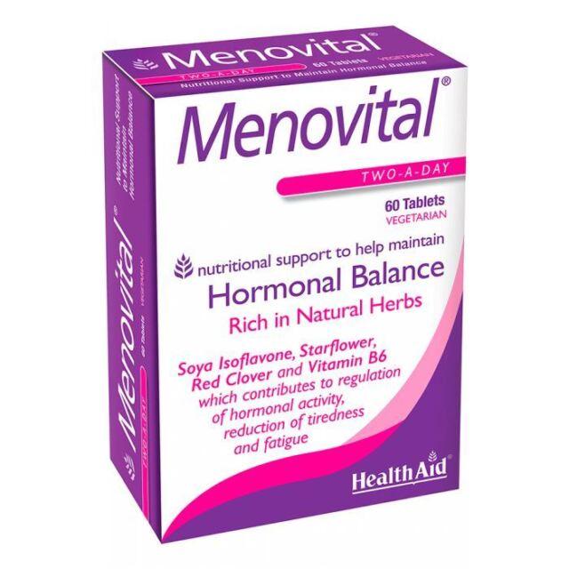 HealthAid Menovital - 60 Tablets