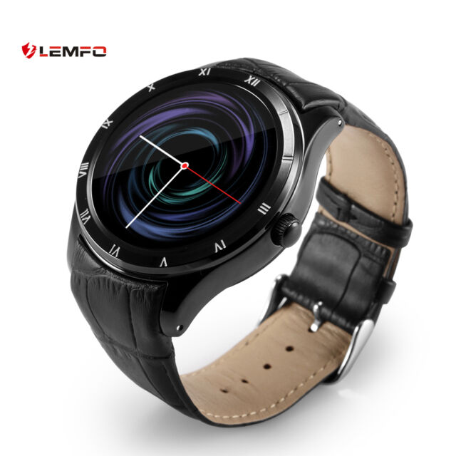 Lemfo Bluetooth Q5 Orologio Intelligente SIM GPS WiFi Smartwatch Per Android iOS