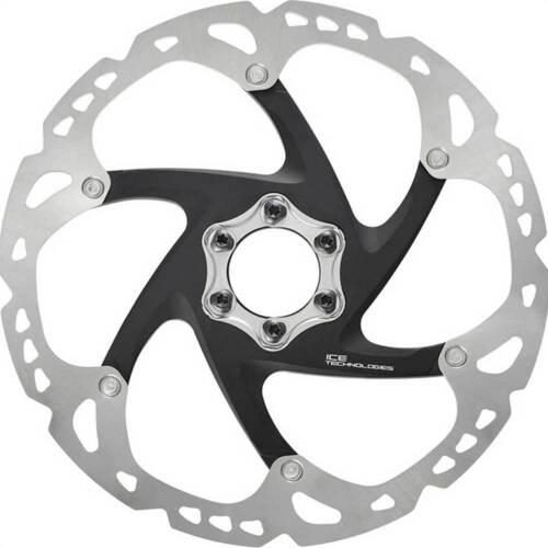 Shimano Bremsscheibe Disc SM-RT 86 S 160mm 6-Loch IceTech silber//schwarz Fahrrad