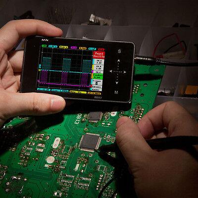 Original Mini ARM Nano DSO202 DS202 Handheld Portable Digital USB Oscilloscope I