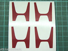 H Mittelkappe Sticker Aufkleber DC2 Integra Art R JDM