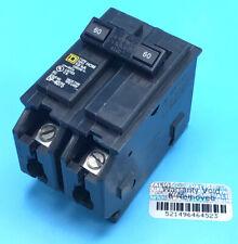 New Circuit Breaker Square D Homeline Hom260 2 Pole 60 Amp 120240v Plug In
