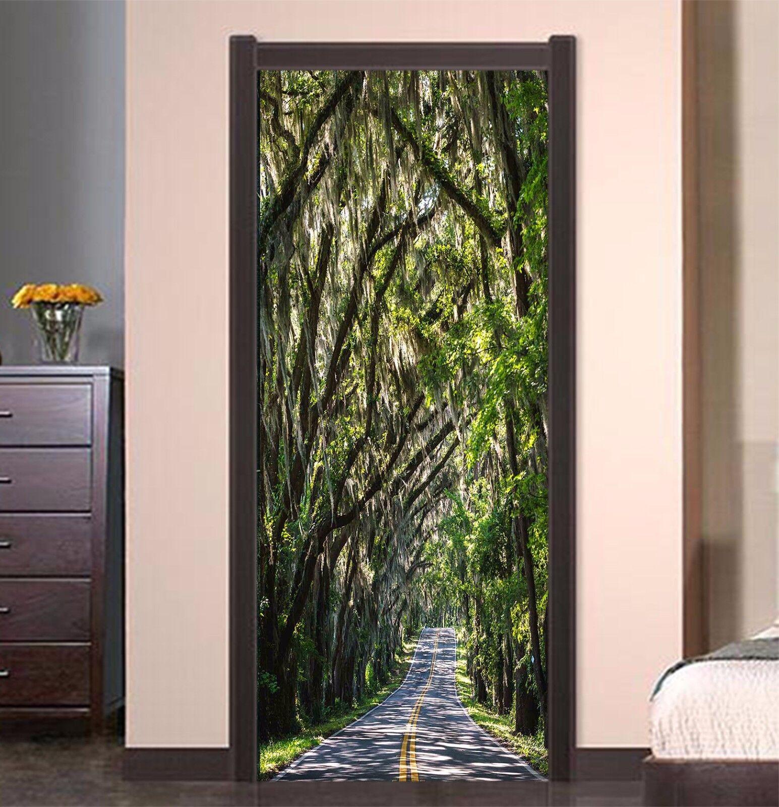 3D Zweige 779 Tür Wandmalerei Wandaufkleber Aufkleber AJ WALLPAPER DE Kyra
