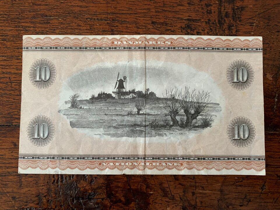 Danmark, sedler, 10kr 0J