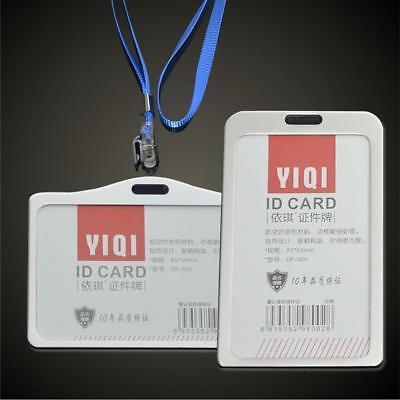 Visitenkartenbox Etui Visitenkartenhalter Business ID Card Holder Metall Silber