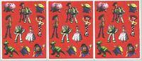 3 Sheets Disney Toy Story Scrapbook Stickers Buzz Lightyear Woody Jesse Bo Peep