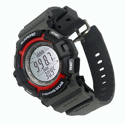 Sunroad FR712A Digital All In One Fishing Barometer Altimeter Sport Watch Hot