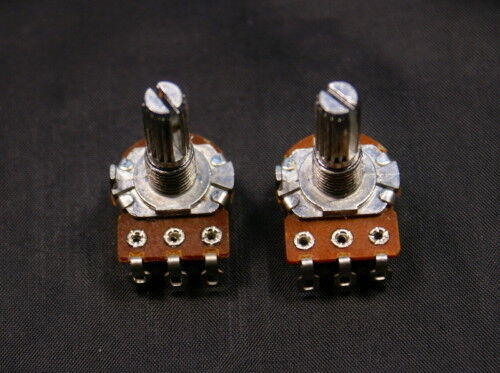 250K A/&B Control Pots Split Shaft Potentiometer 20mm