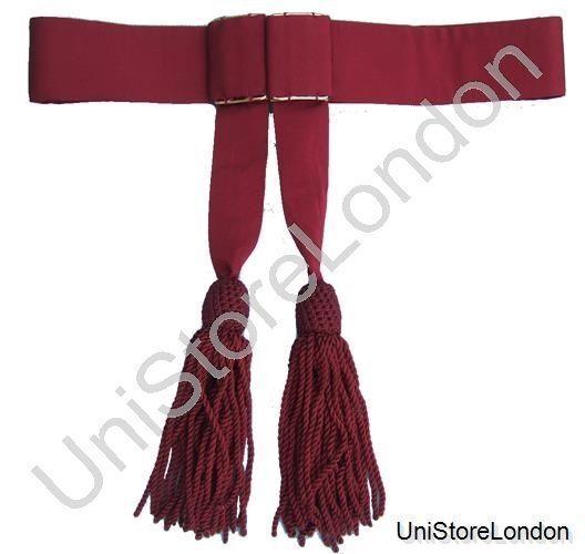 Armée Foulard, ceinture, bordeaux size Foulard R168