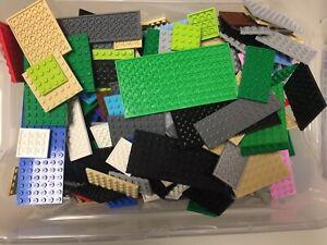 LEGO-25x-Platten-verschiedene-Farben-und-Groessen-Platte-Bauplatten-Bauplatte