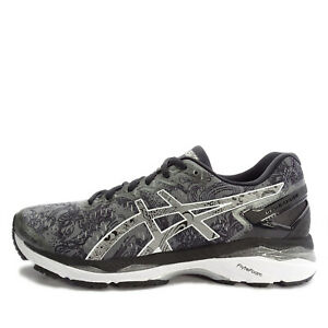 newest ff4e4 2fbd7 Details about Asics GEL-Kayano 23 Lite-Show [T6A1N-9793] Running  Carbon/Silver-Reflective