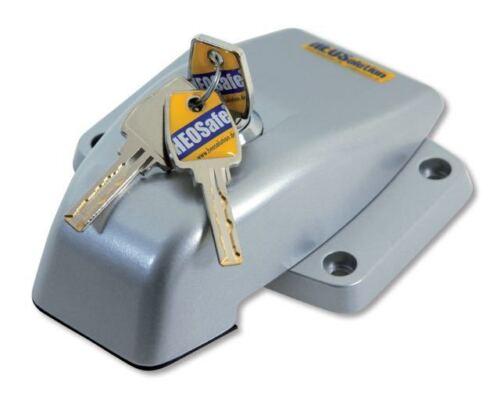 Schiebe HEOSafe 1760 VAN Security Sicherung v Heck und Flügeltüren-grau//silber