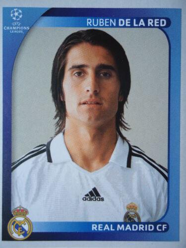 Panini 446 Ruben de la Red Real Madrid UEFA CL 2008//09