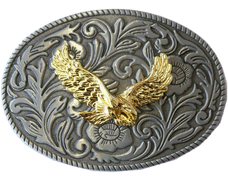 Gürtelschnalle Buckle Biker Cowboy Cowgirl Western Westernstyle »GS-408« Adler