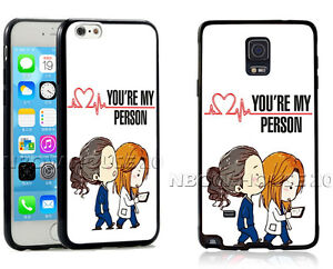 Details about Grey's Anatomy Phone Case You're my person For iPhone iPod Samsung Phone Cover
