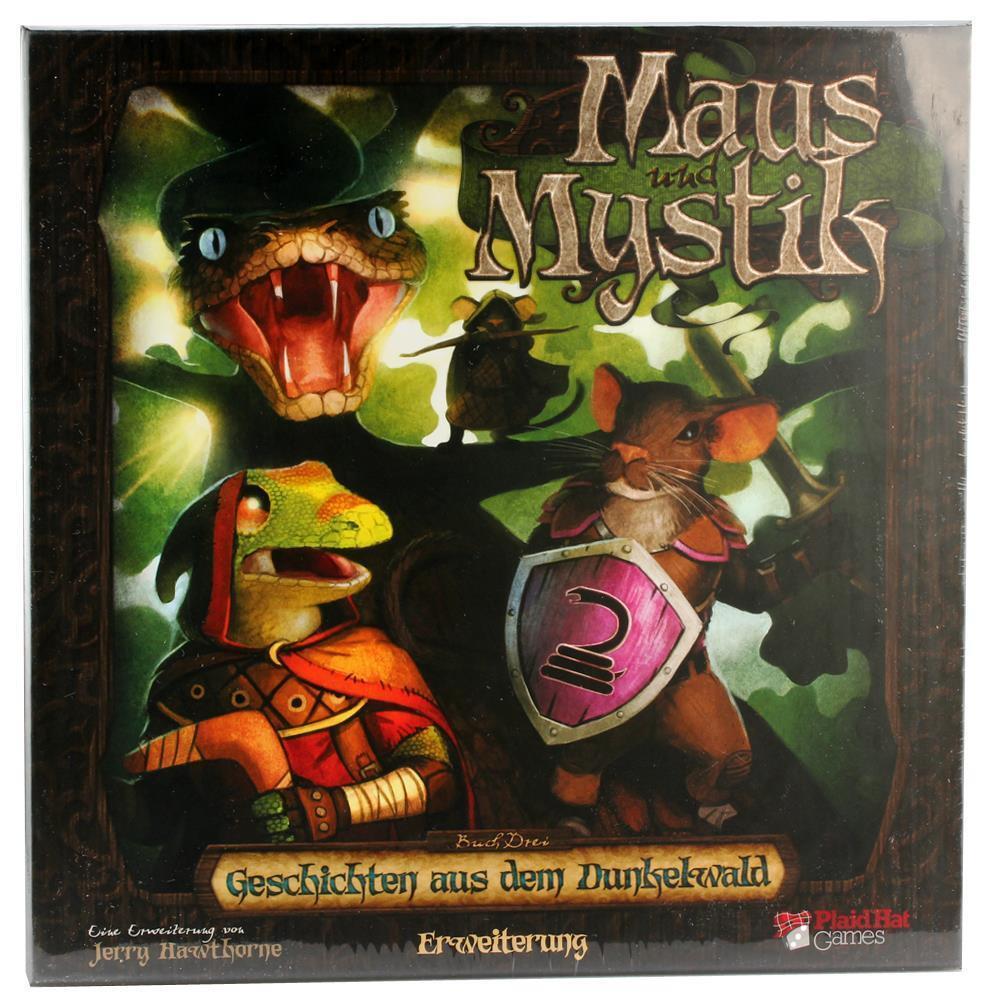 Plaid a Games Souris et superstitions-histoires de l'élargissement sombre forêt