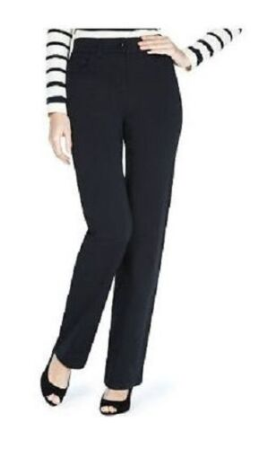 Ex M/&S Women/'s Ladies Trousers Collection Straight Leg Stretch Pants Size 6-28