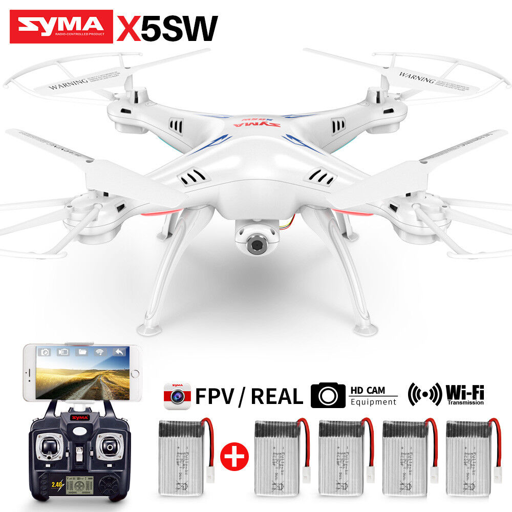 RC Drone SYMA X5SW FPV WIFI Camera Quadcopter 2.4G 4CH 6Axis Gyro Remote Control